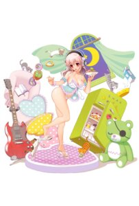Rating: Questionable Score: 62 Tags: cleavage guitar headphones heels nitroplus pantsu sonico super_sonico tsuji_santa User: NeoReaper
