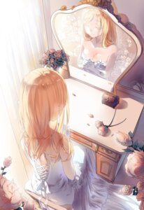 Rating: Safe Score: 45 Tags: canegouzi christa_lenz cleavage dress shingeki_no_kyojin wedding_dress User: charunetra
