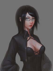 Rating: Safe Score: 32 Tags: cleavage megane youyi User: Radioactive