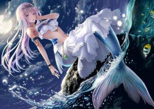 Rating: Safe Score: 55 Tags: bikini_top cleavage macha0331 mermaid monster_girl swimsuits tagme tail wet User: BattlequeenYume