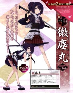 Rating: Questionable Score: 21 Tags: japanese_clothes musk_tiger sword tenka_hyakken torn_clothes User: drop
