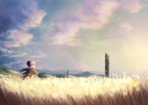 Rating: Safe Score: 30 Tags: horns landscape tagme User: BattlequeenYume