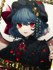 Rating: Questionable Score: 12 Tags: daimaou_ruaeru lolita_fashion remilia_scarlet touhou wings User: Dreista