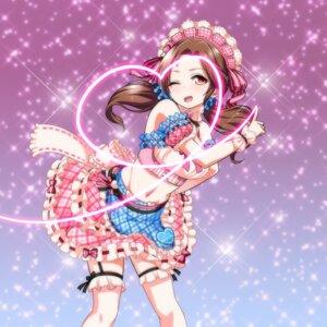 Rating: Safe Score: 16 Tags: garter kawashima_mizuki shirihime the_idolm@ster the_idolm@ster_cinderella_girls User: saemonnokami