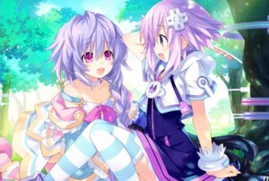 Rating: Safe Score: 65 Tags: choujigen_game_neptune dress neptune noire pururut thighhighs tsunako User: HyperD