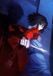 Rating: Safe Score: 18 Tags: kara_no_kyoukai kimono ryougi_shiki takeuchi_takashi type-moon weapon User: fireattack