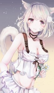 Rating: Safe Score: 69 Tags: animal_ears final_fantasy final_fantasy_xiv miqo'te tagme tail User: BattlequeenYume
