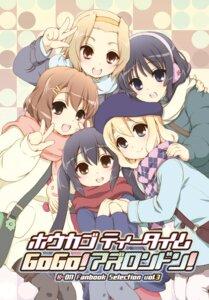Rating: Safe Score: 9 Tags: akiyama_mio fujieda_miyabi hirasawa_yui k-on! kotobuki_tsumugi nakano_azusa tainaka_ritsu User: fairyren