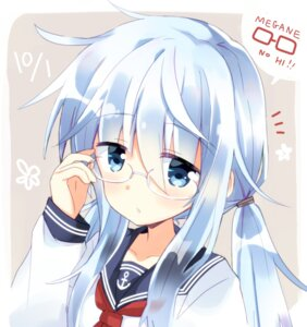 Rating: Safe Score: 20 Tags: hibiki_(kancolle) hizuki_yayoi kantai_collection megane seifuku User: Mr_GT