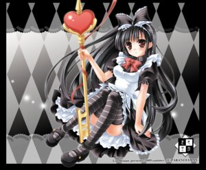 Rating: Safe Score: 27 Tags: lolita_fashion minase_lin thighhighs wallpaper User: fireattack
