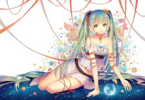 Rating: Safe Score: 88 Tags: hatsune_miku tid vocaloid wings User: Mr_GT