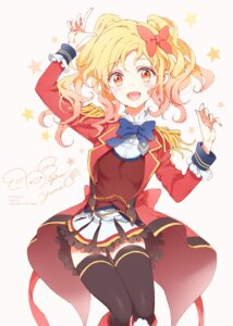 Rating: Safe Score: 26 Tags: aikatsu! aikatsu_stars! nagahara nijino_yume seifuku thighhighs User: animeprincess