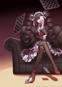 Rating: Safe Score: 63 Tags: celestia_ludenberg dangan-ronpa gothic_lolita heels lolita_fashion maomaozi thighhighs User: Mr_GT