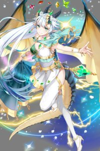 Rating: Safe Score: 27 Tags: cleavage dress heels horns pointy_ears soccer_spirits tail thighhighs transparent_png tyuh wings User: Sunimo