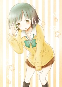 Rating: Safe Score: 28 Tags: isshuukan_friends mokichi812 seifuku sweater yamagishi_saki User: Mr_GT