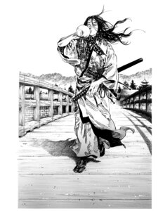 Rating: Safe Score: 6 Tags: inoue_takehiko male monochrome vagabond User: Umbigo