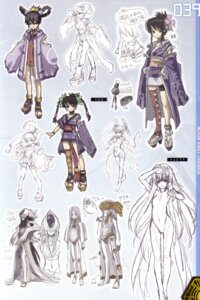 Rating: Questionable Score: 13 Tags: ar_tonelico misha_arsellec_lune nagi_ryou naked shurelia sketch User: fireattack