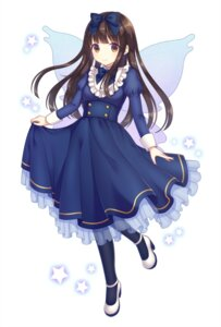 Rating: Safe Score: 46 Tags: dress heels skirt_lift star_sapphire touhou wings yamayu User: Mr_GT