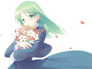 Rating: Safe Score: 13 Tags: cuffs garden gayarou otokawa_sayo wallpaper User: fireattack