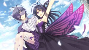 Rating: Safe Score: 53 Tags: cleavage dress game_cg navel ookura_risona ookura_yuusei otome_riron_to_sono_shuuhen:_ecole_de_paris pantyhose suzuhira_hiro tsuki_ni_yorisou_otome_no_sahou wings User: WtfCakes