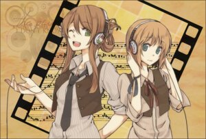 Rating: Safe Score: 18 Tags: headphones hetalia_axis_powers hungary ishizue_no liechtenstein User: charunetra