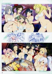Rating: Safe Score: 27 Tags: asuka_(senran_kagura) ayame_(senran_kagura) bikini breast_hold cleavage eyepatch hibari_(senran_kagura) ikaruga katsuragi minori_(senran_kagura) murakumo_(senran_kagura) senran_kagura senran_kagura:_peach_beach_splash shiki_(senran_kagura) sketch swimsuits underboob yaegashi_nan yagyuu yozakura_(senran_kagura) yumi_(senran_kagura) User: kiyoe