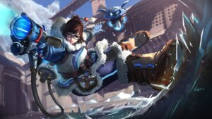 Rating: Safe Score: 30 Tags: gun megane mei_(overwatch) overwatch vafar7 wallpaper User: Mr_GT