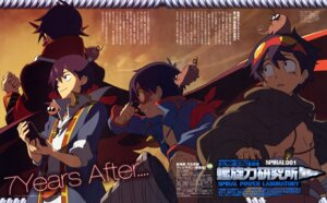 Rating: Safe Score: 7 Tags: male shinagawa_hiroki simon tengen_toppa_gurren_lagann User: Velen