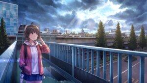 Rating: Safe Score: 34 Tags: anbe_yoshirou landscape umbrella User: Mr_GT
