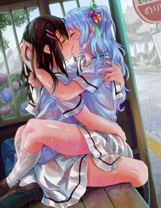 Rating: Questionable Score: 69 Tags: bang_dream! elocca matsubara_kanon okusawa_misaki see_through seifuku skirt_lift wet wet_clothes yuri User: Mr_GT