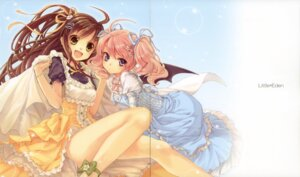 Rating: Safe Score: 23 Tags: crease crown lolita_fashion wings yashiro_seika User: petopeto