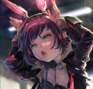 Rating: Safe Score: 24 Tags: animal_ears bunny_ears cleavage headphones tagme User: Spidey