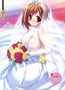 Rating: Questionable Score: 67 Tags: dress munyuu nipples see_through wedding_dress User: midzki