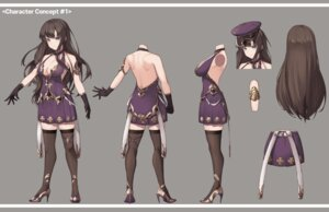 Rating: Questionable Score: 15 Tags: character_design cleavage cynd heels no_bra thighhighs User: Dreista