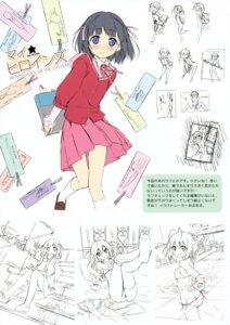 Rating: Safe Score: 28 Tags: 5_nenme_no_houkago haqua_du_lot_herminium kami_nomi_zo_shiru_sekai kantoku nakagawa_kanon seifuku shiomiya_shiori sketch User: Kalafina