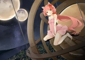 Rating: Questionable Score: 40 Tags: animal_ears nekomimi nekomura_iroha oohashiyou vocaloid User: fireattack