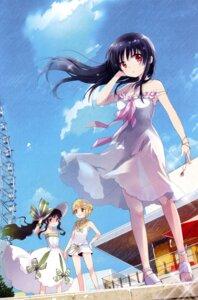 Rating: Safe Score: 17 Tags: cleavage dress kobayashi_ritz see_through summer_dress User: Humanpinka