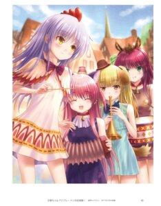 Rating: Safe Score: 10 Tags: angel_beats! animal_ears dress goto-p inumimi key nekomimi tail tenshi yui_(angel_beats!) yurippe yusa User: w030411888
