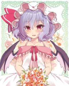 Rating: Safe Score: 34 Tags: beni_kurage dress remilia_scarlet touhou wings User: Mr_GT