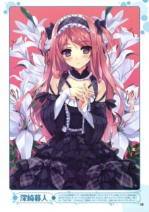 Rating: Safe Score: 107 Tags: gothic_lolita kurumi_(kantoku) lolita_fashion misaki_kurehito User: fireattack