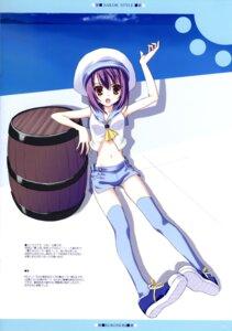 Rating: Safe Score: 8 Tags: ice_&_choco kokonobi tachibana_kaede thighhighs User: admin2