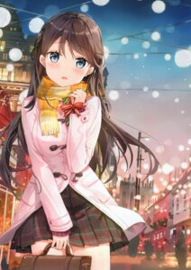 Rating: Safe Score: 69 Tags: christmas fuumi seifuku sweater tagme User: kiyoe