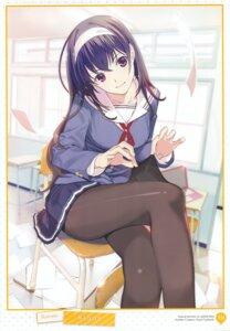 Rating: Safe Score: 31 Tags: mibu_natsuki pantyhose saenai_heroine_no_sodatekata seifuku User: abcdefh