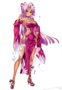 Rating: Questionable Score: 52 Tags: cleavage dress heels katagiri_hinata koihime_musou no_bra User: Radioactive