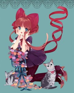 Rating: Safe Score: 16 Tags: amazawa_koma dress neko pantyhose User: Radioactive