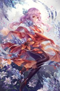 Rating: Safe Score: 52 Tags: cleavage guilty_crown heels no_bra tagme watermark yuzuriha_inori User: BattlequeenYume