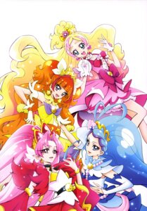 Rating: Safe Score: 12 Tags: akagi_towa amanogawa_kirara dress go!_princess_pretty_cure haruno_haruka kaidou_minami kamikita_futago pointy_ears pretty_cure User: drop