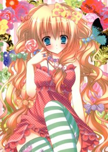 Rating: Safe Score: 48 Tags: coconutbless dress natsuki_coco thighhighs User: syaoran-kun