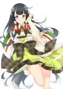 Rating: Safe Score: 44 Tags: cleavage dress ello-chan kantai_collection mizuho_(kancolle) User: Mr_GT
