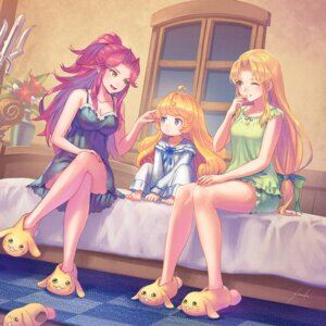 Rating: Questionable Score: 24 Tags: anbe_yoshirou cleavage pajama pointy_ears seiken_densetsu skirt_lift User: Dreista